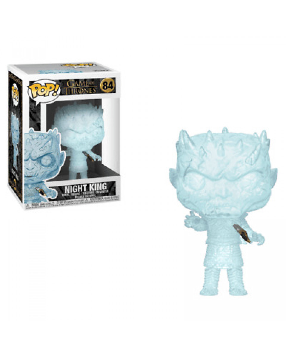 Bobble Figure Game of Thrones POP! - Crystal Night King with Dagger