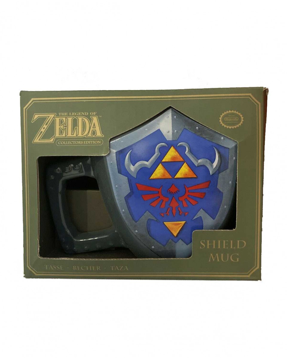 Šolja Nintendo The Legend of Zelda Link Shield Mug