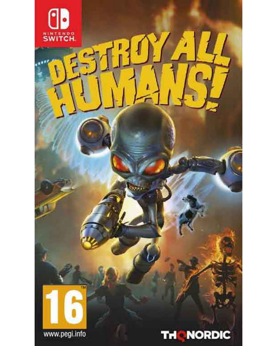 Switch Destroy All Humans!