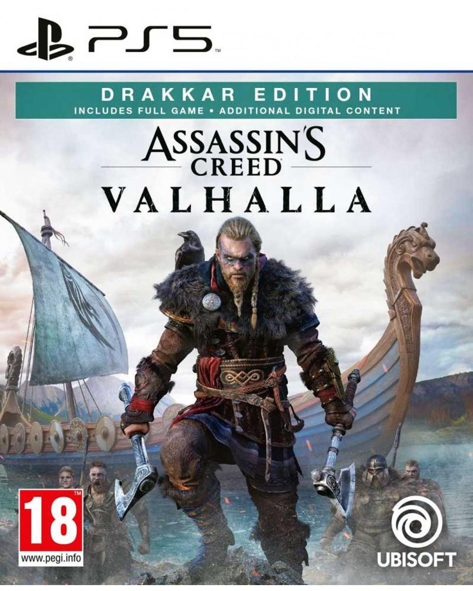 PS5 Assassin's Creed Valhalla Drakkar Special Day1 Edition