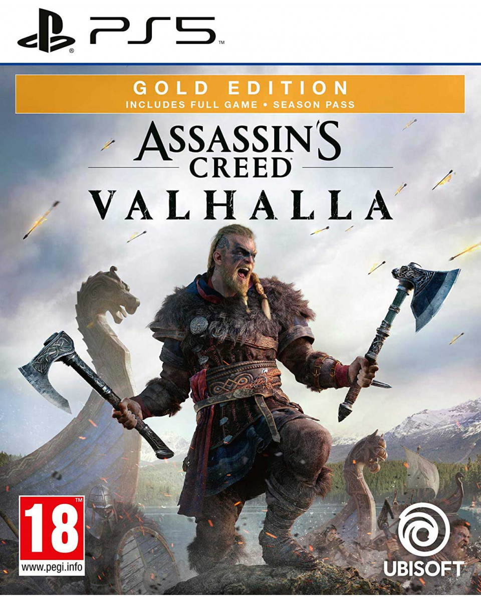 PS5 Assassin's Creed Valhalla Gold Edition