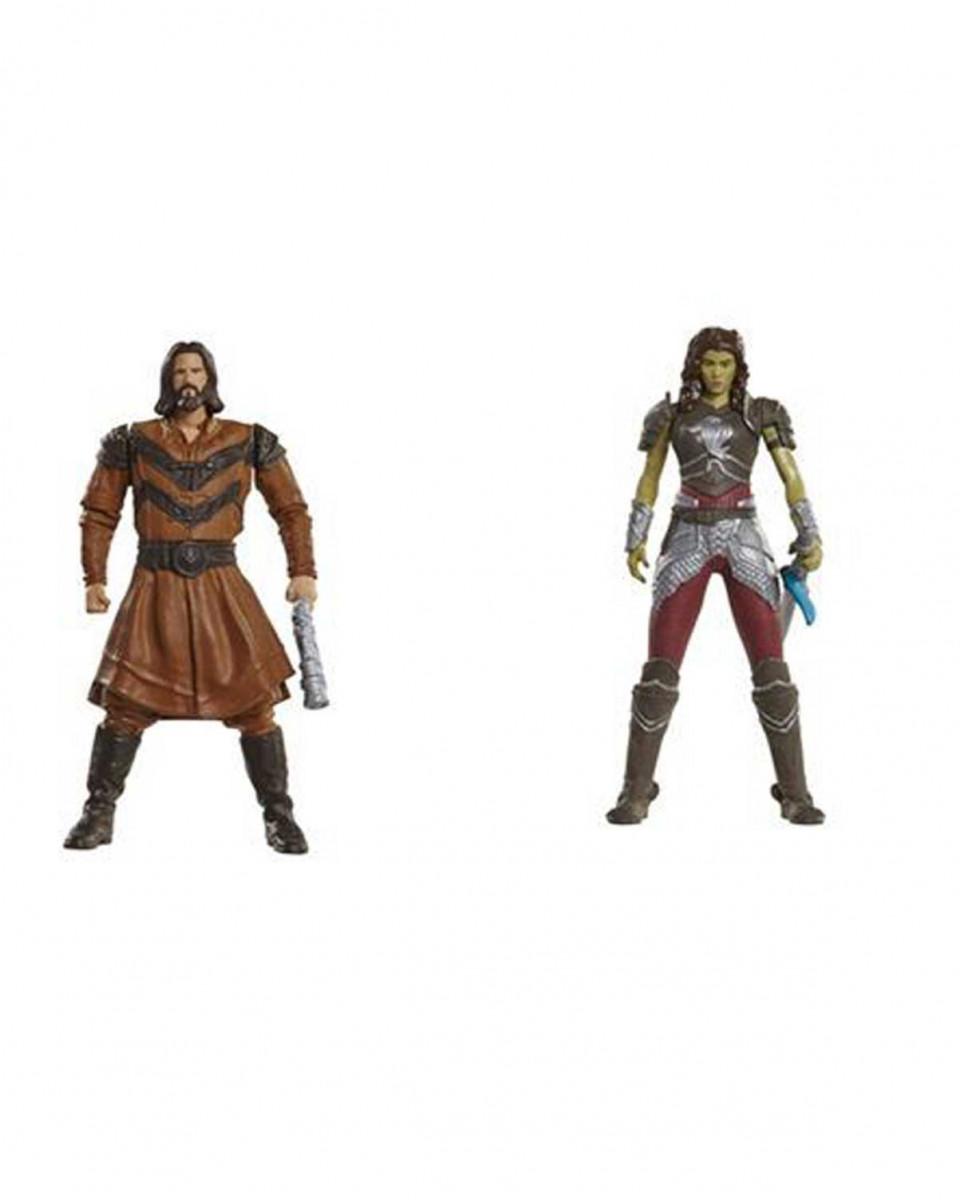 Mini Figure Warcraft 2 pack - Lother vs. Garona
