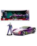 Diecast Model DC Comics 1/24 - 2009 Chevy Corvette Stingray with Figure