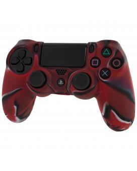 Pro Soft Silicone Protective Cover Camo Red