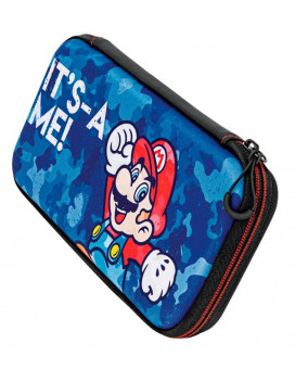 Slim Travel Case PDP - Mario Camo Edition - It's - A Me!