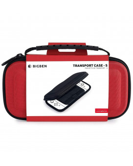 Transport Case - S Red Bigben Nintendo Switch Lite