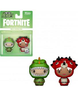 Mini Figure Fortnite - Pint Size Heroes - Rex & Tricera Ops