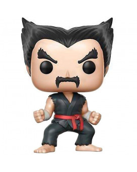 Bobble Figure Tekken POP! - Heihachi ( Black & Red Judo )