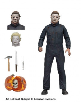Action Figure Halloween 2 Ultimate - Michael Myers 18cm