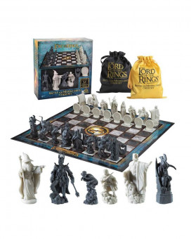 Šah Lord of the Rings Battle for Middle Earth Chess Set