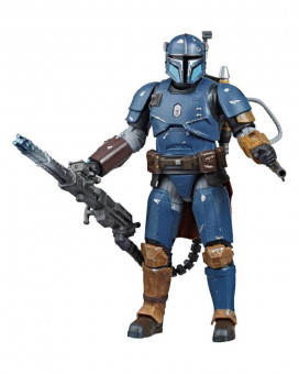 Action Figure Star Wars The Mandalorian Black Series - Heavy Infantry Mandalorian Exclusive