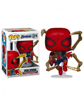 Bobble Figure Marvel Avengers Endgame POP! - Iron Spider with Nano Gauntlet