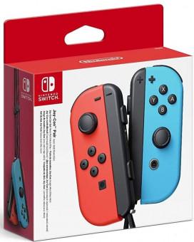 Gamepad Joy-Con Pair Neon Red/Neon Blue