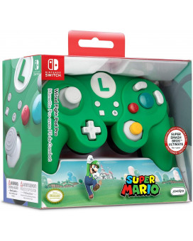 Gamepad PDP Wired Fight Pad Pro - Super Mario - Luigi Nintendo Switch