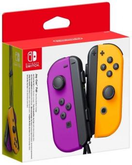 Gamepad Joy-Con Pair Neon Purple/Neon Orange