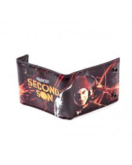 Novčanik Bioworld Infamous Second Son - Denim Allover Printed
