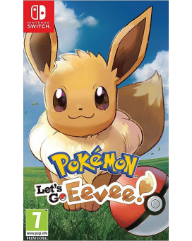 Switch Pokemon Let's Go - Eevee