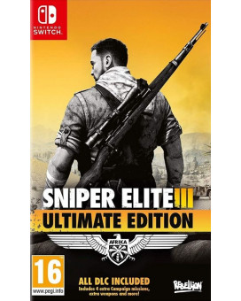 Switch Sniper Elite 3 - Ultimate Edition (Including 9 additional DLC packs)