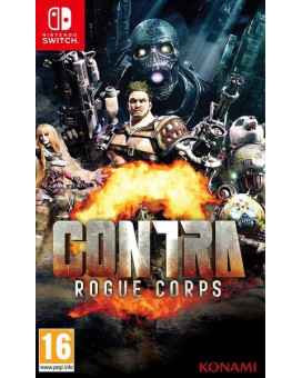 Switch Contra - Rogue Corps