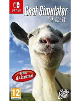Switch Goat Simulator - The Goaty