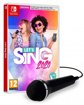 Switch Let's Sing 2020 + Mikrofon