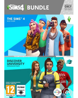 PCG The Sims 4 + Discover University