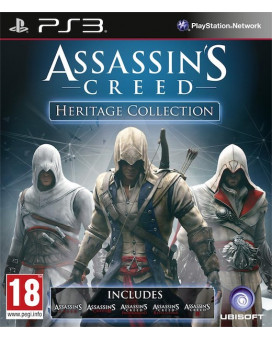 PS3 Assassin's Creed - Heritage Collection
