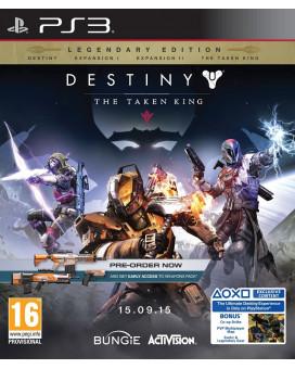 PS3 Destiny - The Taken King - Legendary Edition