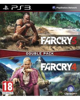 PS3 Far Cry 3 + Far Cry 4