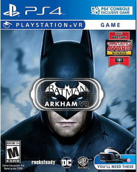 PS4 Batman Arkham VR