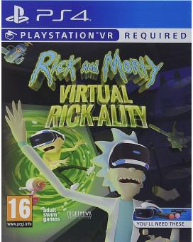 PS4 Rick and Morty - Virtual Rick-ality VR
