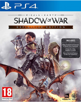 PS4 Middle Earth - Shadow of War - Definitive Edition