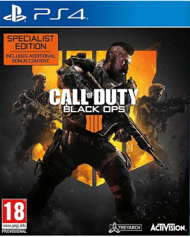 PS4 Call of Duty - Black Ops 4 - Specialist Edition