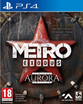 PS4 Metro Exodus - Limited Aurora Edition