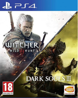 PS4 The Witcher 3 - The Wild Hunt & Dark Souls 3