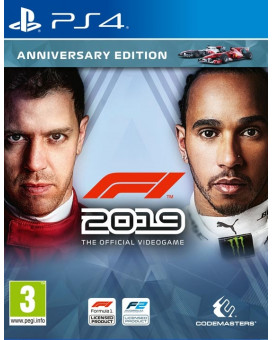 PS4 Formula 1 - F1 2019 - Anniversary Edition