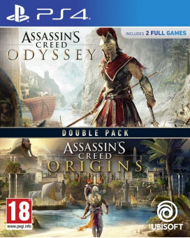 PS4 Assassin's Creed Double Pack - Odyssey & Origins