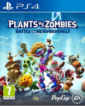 PS4 Plants vs. Zombies - Battle For Neighborville