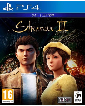 PS4 Shenmue 3 - Day 1 Edition