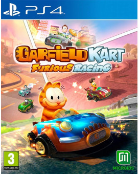 PS4 Garfield Kart - Furious Racing