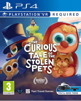 PS4 The Curious Tale of the Stolen Pets