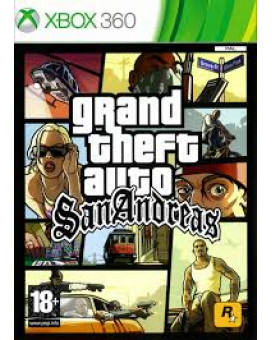 XB360 Grand Theft Auto - GTA San Andreas