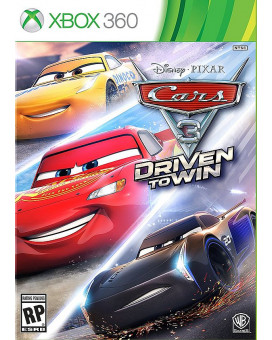 XB360 Cars 3 - Driven To Win