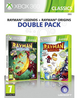 XB360 Rayman Double Pack Legends + Origins