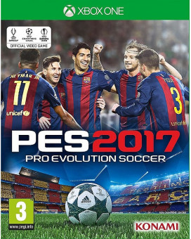 XBOX ONE Pro Evolution Soccer 2017 - PES 2017