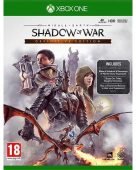 AKCIJA XBOX ONE Middle Earth - Shadow of War - Definitive Edition