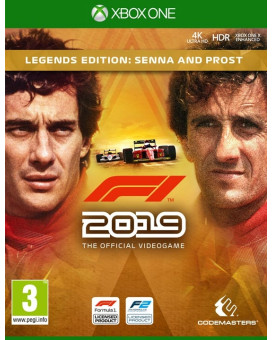 XBOX ONE Formula 1 - F1 2019 - Legends Edition - Senna And Prost