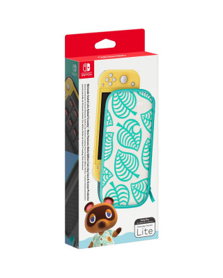 Nintendo Switch Lite Carrying Case & Screen Protector Animal Crossing Edition