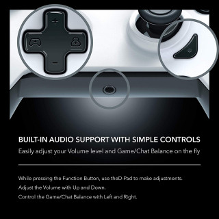 Gamepad PDP Arctic White
