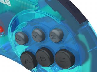 Gamepad Retro-Bit SEGA MD Mini 6-B USB Blue